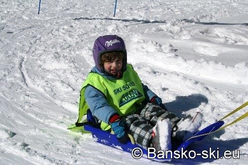 Bansko ski children school